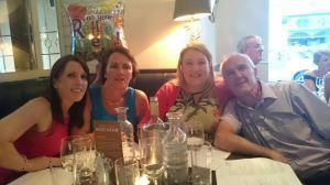 Mairead, Jean, Elaine & Declan